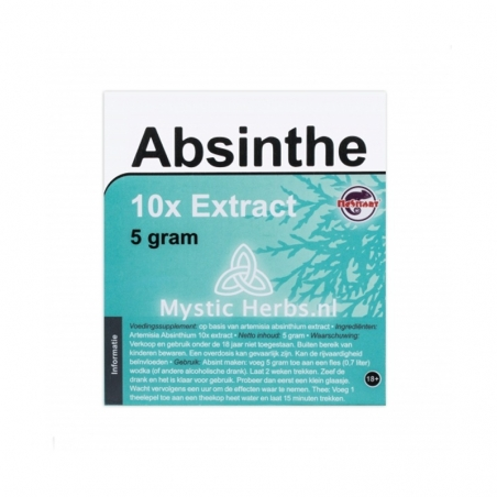 Kruid extracten Absinthe 10X Extract - 5 g € 15,95