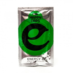 Happy Caps Energy-E - 4 Capsules € 9,50 Next Level Smartshop Webshop