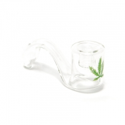 Glass pipe crooked
