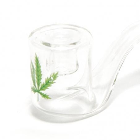 Glazen Pijpjes Glazen pijp krom € 5,50