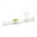 Glass Pipes Glass Shabong Pipe - Medium € 4,50