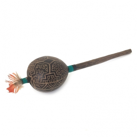 Shamanism Shipibo rattle   € 17,50 Next Level Smartshop Webshop
