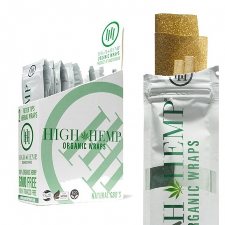 Wraps High Hemp Organic CBD Blunt Wraps  € 2,50