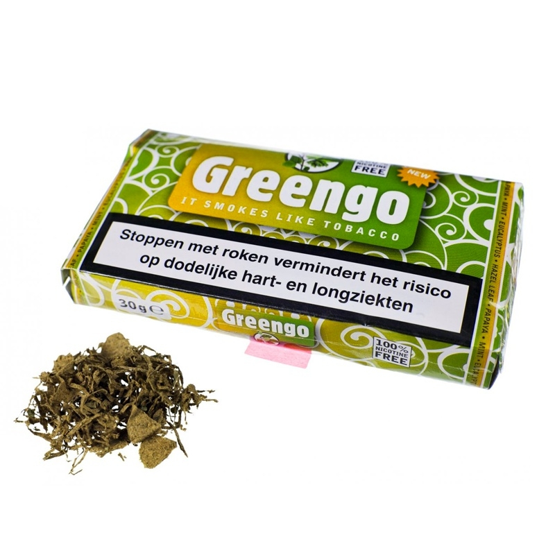 Vaping Herbs Greengo Tabaksvervanger - 30gr € 8,50 Next Level Smartshop Webshop