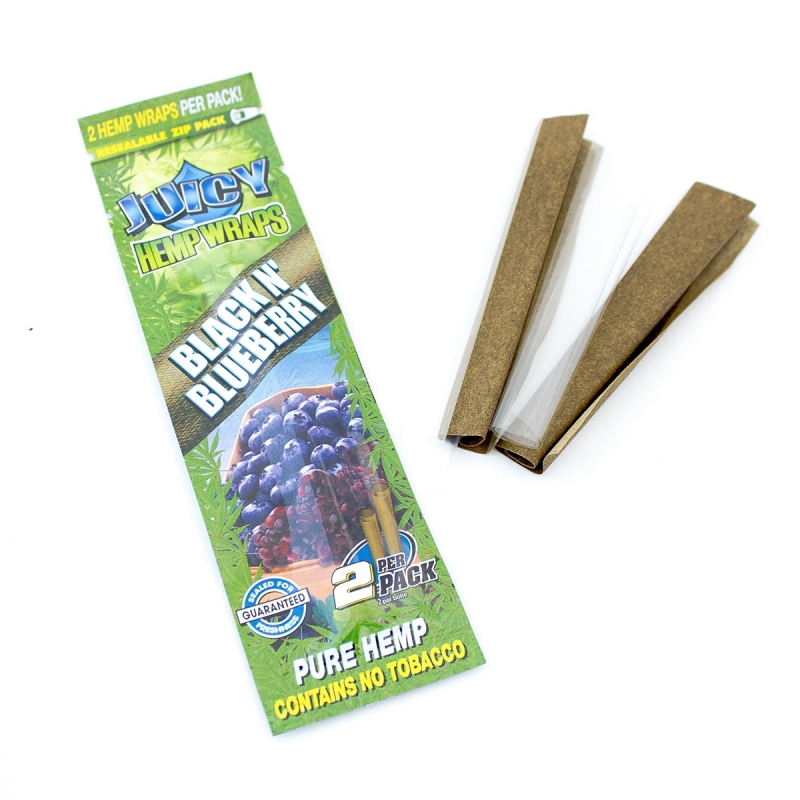 Wraps Juicy Hemp Wraps - Black 'N Blueberry € 2,50