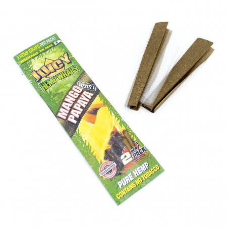 Wraps Juicy Hemp Wraps - Mango Papaya   2,50 | Next Level Smartshop Webshop