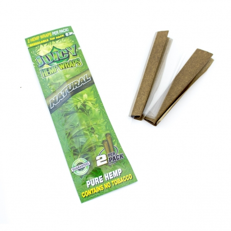 Wraps Juicy Hemp Wraps - Natural € 2,50