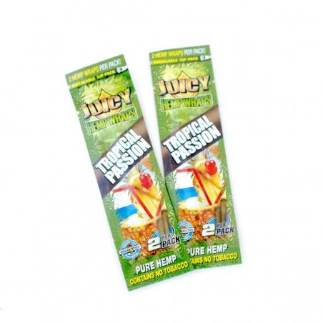 Wraps Juicy Hemp Wraps - Tropical Passion € 2,50