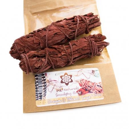 Smudging & Incense Dragon's Blood Sage - 2 Smudge Sticks € 10,95