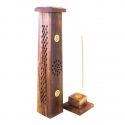 Incense Burners Wierook Toren Hout - OM € 7,95