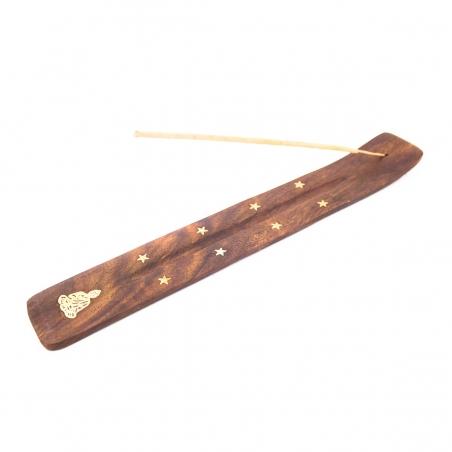 Wierookhouders  Wierook plank hout - Buddha € 2,50