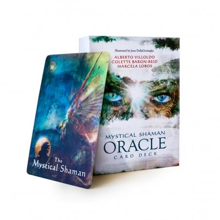 Oracle Cards Mystical Shaman Oracle Deck and Guidebook   34,99 Next Level Smartshop Webshop