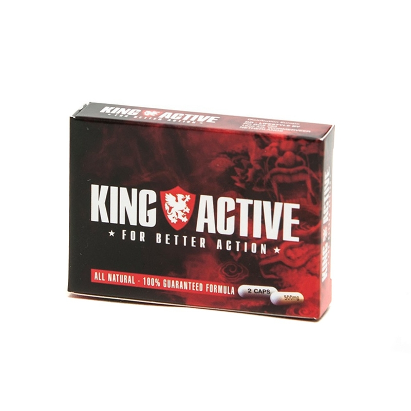 Libido King Active   14,25 | Next Level Smartshop Webshop