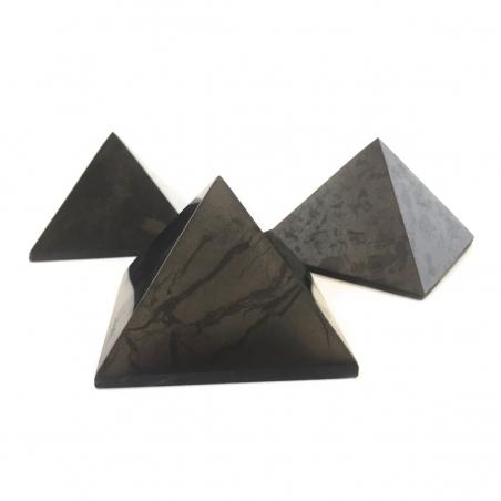 Real Shungite Shungite Pyramid - 5cm   18,95 Next Level Smartshop Webshop