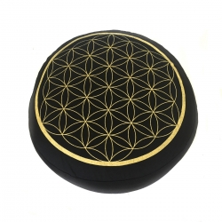 Meditation Meditation Cushion Flower of Life - Purple / Black   29,95 Next Level Smartshop Webshop