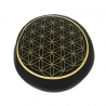Meditation Meditation Cushion Flower of Life - Purple / Black   29,95 Next Level Smartshop Webshop
