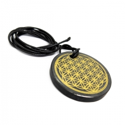Real Shungiet Shungiet Ketting - Flower of Life - Large   18,50 | Next Level Smartshop Webshop