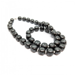 Shungite bead necklace