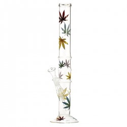 Bongs Autumn leaf Glass Bong   € 17,50 | Next Level Smartshop Webshop