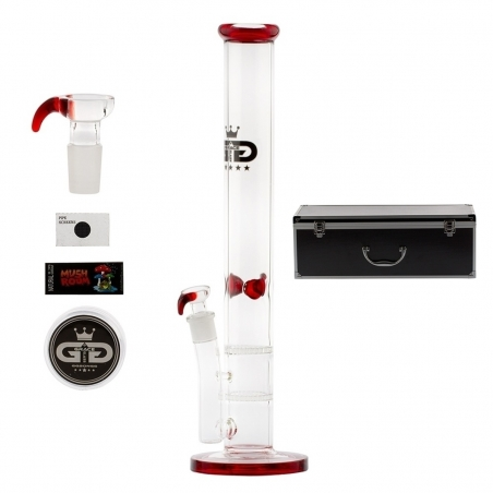 Glass Bongs GG Bong Set with case | Red  € 79,95 Next Level Smartshop Webshop