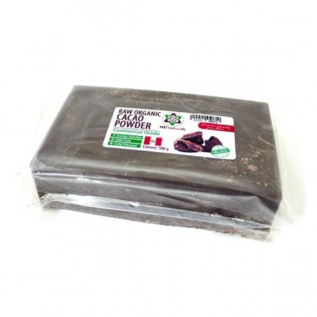Raw Cacao Cacao Paste - Peru 500g • Native Criollo   € 22,95 Next Level Smartshop Webshop