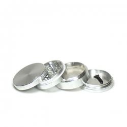 Grinder Aluminium Zilver...