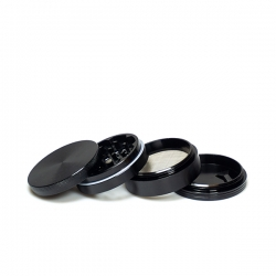 Grinder Aluminum Black 62mm...