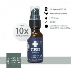CBDactive+ - 4% (800mg)